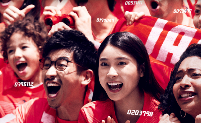 asics「東京2020 オリンピックパラリンピック We are team red campaign」スチールALL・WEB