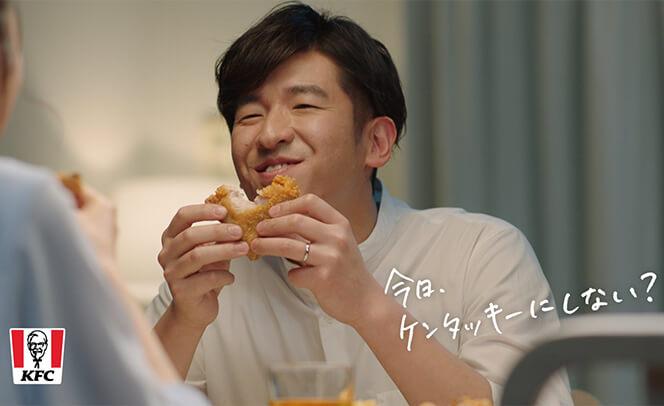 KFC 30%OFFパック「夫婦の帰り道」篇 ALL媒体